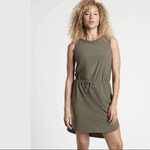 ATHLETA Rincon Dress Mountain Olive NWT